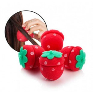 Заколка для волос [MERRYSHOP] Strawberry Hair Doll Dolly 4p