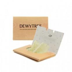 Матирующие салфетки для лица DEWYTREE Nature Source Green Tee Mattifying Linens 50шт.