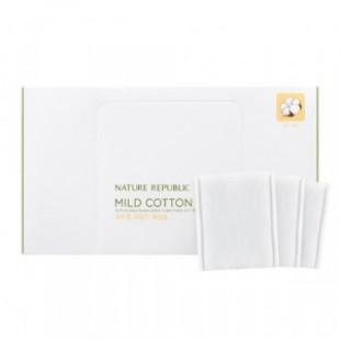 ПРИРОДА РЕСПУБЛИКА Инструмент для красоты Natural Mild Cotton Wipe 80ea