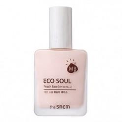 THESAEM Eco Soul Peach Base 25ml SPF44 PA ++