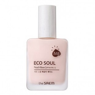 THESAEM Eco Soul Peach Base 25ml SPF44 PA ++