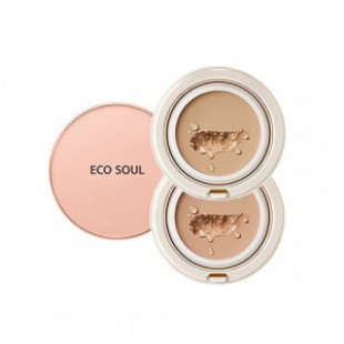 ВВ пудра для лица THE SEAM Eco Soul Spau BB Cake SPF50+ PA+++ 18g