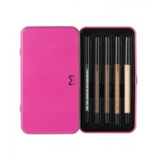 MACQUEEN Newyork Waterproof Gel Eyeliner Set