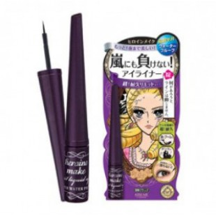 Подводка для глаз KISSME Heroin make Impact Liquid eyeliner super keep