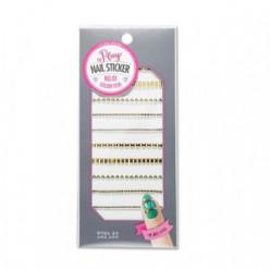 Наклейки для ногтей ETUDEHOUSE Play Nail Sticker (Golden studs) N0.01