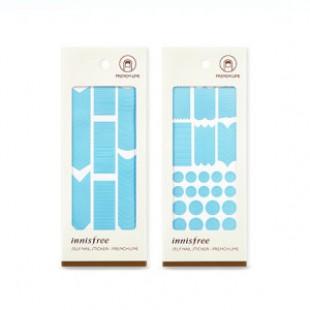INNISFREE Self Nail Sticker (французская линия) 1ea