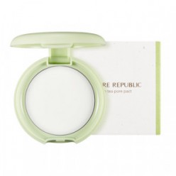 Пудра для лица NATURE REPUBLIC Green tea Pore Pact 8.5g