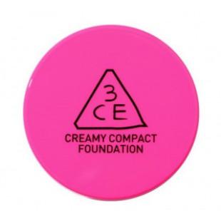 Тональная основа для макияжа STYLE NANDA 3CE PINK CREAMY COMPACT FOUNDATION