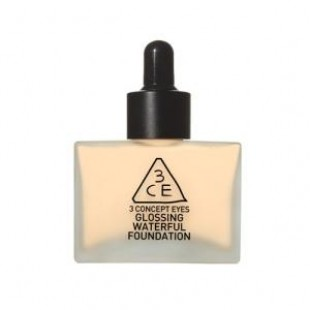 База для макияжа STYLENANDA 3CE GLOSSING WATERFUL FOUNDATION 40g