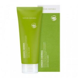 Пенка для умывания NATURE REPUBLIC Green Derma Mild Foam Cleanser 160ml
