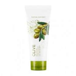 NATURE REPUBLIC Real Nature Olive Foam Cleanser 150ml