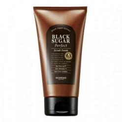 Пенка-скраб для кожи SKINFOOD Black Sugar Perfect Scrub Foam 180g