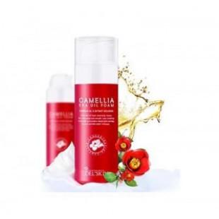 Очищающее масло для кожи [MERRYSHOP] DEL SKIN Camellia spa oil foam 100ml