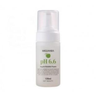 MIGUHARA pH6.6 Apple Bubble foam 120ml