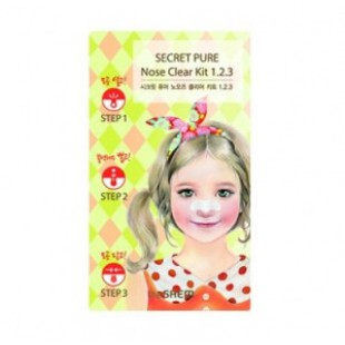 Секрет чистого чистого носа SAEM 1?2.3.