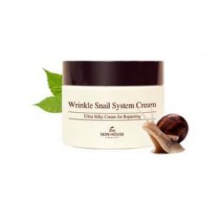 Крем против морщин The skin house Wrinkle Snail System Cream 50ml