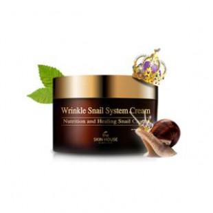 Крем для кожи The skin house Wrinkle Snail System Cream 100ml.
