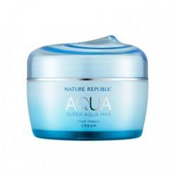 Интенсивный увлажняющий крем для лица NATURE REPUBLIC Super Aqua Max Fresh Watery Cream 80ml (BLUE)