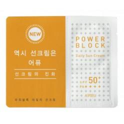 Ежедневный солнцезащитный крем A'PIEU SPF50 + PA +++ 1 мл * 10ea