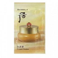 Крем для снятия макияжа Whoo Gong jin Hyang Cream Cleanser 1ml*10ea