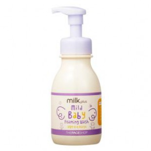 Детская пена THE FACE SHOP Milk Plus Mild Baby Foaming Wash 330ml