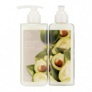 THE FACE SHOP Avocado Body Moisture Lotion 300ml