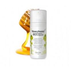 Ампульное средство для ухода за кожей MEMEBOX Let's cure Honey bunny propolis 40 ampoule 100ml