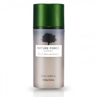HOLIKAHOLKA Nature Force Homme Oil Cut All In One Essence 100ml