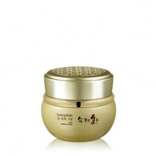 Укрепляющий крем с экстрактом женьшеня Sooryehan Bon Firming Cream 75ml