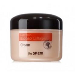 SAEM Care Plus Baobab Collagen Cream 100ml