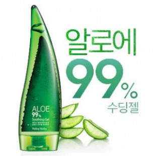 Успокаивающий гель для кожи HOLIKAHOLIKA Aloe 99% Soothing Gel 55ml [MINI}