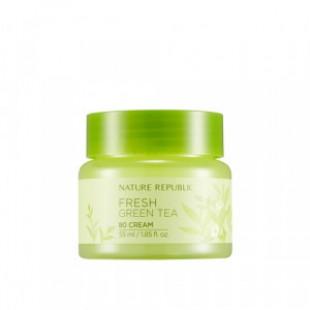 Крем для лица NATURE REPUBLIC Fresh Green Tea 80 Cream 55ml
