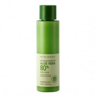 Эмульсия NATURE REPUBLIC Soothing & Moisture Aloe Vera 80% Emulsion 160ml