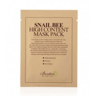 BENTON Snail Bee High Content Mask Pack 20g