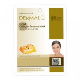 Маска для лица DERMAL Gold Collagen Essence Mask sheet