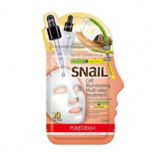 PUREDERM Snail Cell Illuminating Multi-Step Treatment 23g