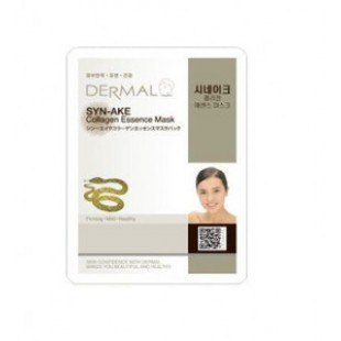 Маска для лица DERMAL SYN-AKE Collagen Essence Mask sheet