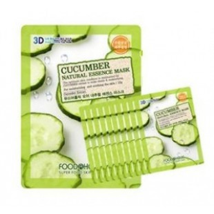 Маска для лица FOOD A HOLIC 3D Natural Essence Mask [Cucumber] x10EA