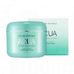 Ночная маска для лица NATURE REPUBLIC Super Aqua Max Deep Moisture Sleeping Pack 100ml