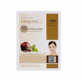 Маски для лица на тканевой основе DERMAL Snail Collagen Essence Mask sheet