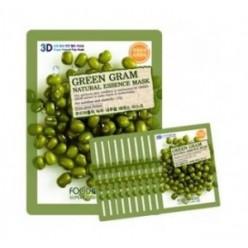 Маска для лица FOOD A HOLIC 3D Natural Essence Mask [Green Gram] x10EA