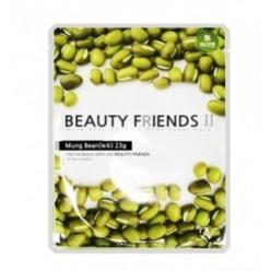 Beauty Friends II Essence Mask Sheet [Mung Bean] 23gx10ea