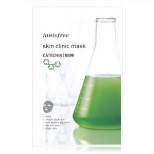 Маска для лица INNISFREE Skin Clinic Mask Catechin 20ml