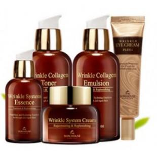 Набор для ухода за кожей THE SKIN HOUSE Wrinkle Collagen Care Set
