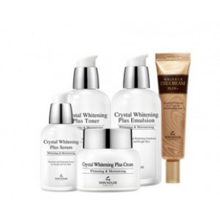 Кожаный дом Crystal Whitening plus 5items SET