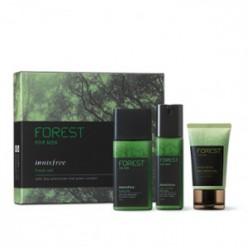 INNISFREE Лес для мужчин Fresh 2PCS Set (180 мл + 120 мл + 50 мл)