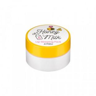 Ночная маска для лица A'PIEU Honey & Milk Lip Sleeping Pack 2.7g