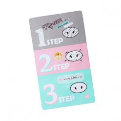 HOLIKAHOLIKA Pig-Nose Clear Blackhead 3-Step Kit