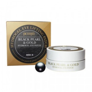 PETITFEE Black Pearl & Gold Eye Patch 60cts