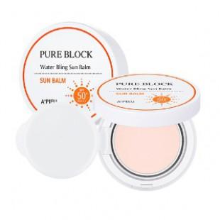 APIEU Pure Block Water Солнцезащитный крем для лица SPF50 + PA +++ 13g